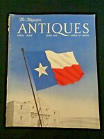 1948 The Magazine ANTIQUES Special Texas Issue Hoblitzelle Griswold Austin Hogg