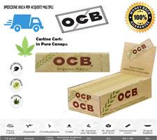 CARTINE OCB ORGANIC CORTE CANAPA BIOLOGICA - SCATOLA DA  25 / 50 LIBRETTI ✅