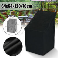 Waterproof Stacking Chair Cover Outdoor Garden Parkland Patio Chairs Furniture