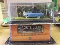 """DIE CAST """" LA SIMCA P60 RANCH """" LA ROUTE BLEUE 1/43"""