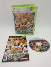 Yu-Gi-Oh! The Dawn of Destiny (Microsoft Xbox, 2004) Complete CIB YuGiOh