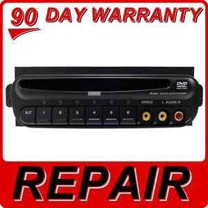 REPAIR 02 03 - 07 Chrysler TOWN & COUNTRY Dodge CARAVAN RCA 6 CD DVD Player DISC