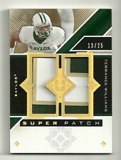 2013 TERRANCE WILLIAMS Upper Deck Ultimate Collection Super PATCH Serial #13/ 25