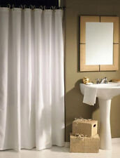 CLEARANCE Solid White Shower Curtain 2m Long Free Shipping