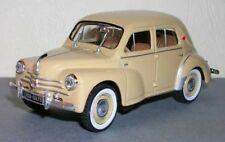 Renault 4CV Berline Sport R 1062 - 1958 1/43 Scale Beige New on Plynth T48 Post