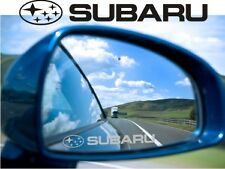 Suburu Sticker Decal Etched Glass Effect for Mirror Style