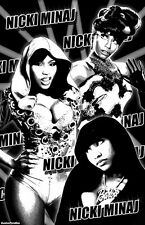 "NICKI MINAJ  11x17  ""Black Light"" Poster"