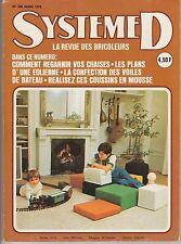 Magazine Système D N°350 mars 1975 bricolage