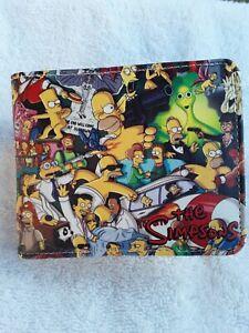 The Simpsons Logo Print Bi-Fold Wallet