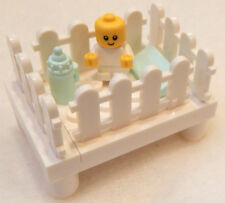 NEW LEGO BABY in CRIB w/Bottle minifigure furniture figure nursery minifig 60134