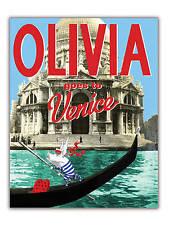 Olivia Goes to Venice by Ian Falconer HARDBACK Dust Jacket