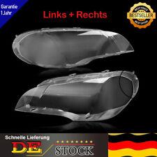 2x Scheinwerferglas Scheinwerfer Streuscheibe Abdeckung Für BMW X5 E70 Bj.07-12
