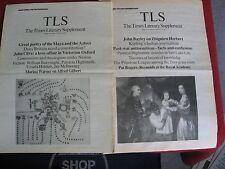 1976-1995 Novelist Patricia Highsmith Essays & Reviews 13 Uncommon TLS Issues