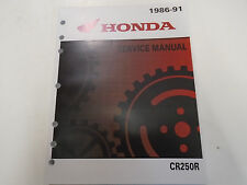 1986 1987 1988 1989 1990 1991 Honda CR250R CR 250 R Service Repair Shop Manual