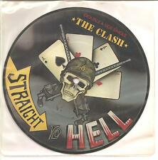 """THE CLASH """"Should I Stay Or Should I Go / Strai"""" 2 Track Picture 7"""" Vinyl Single"""