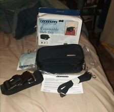 Travel on #6291 Convertible Belt Bag Black New