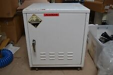 WHEELED HAZARDOUS MATERIALS CUPBOARD