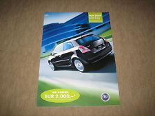 Fiat Stilo Linea Sport / Linea Class Prospekt Brochure prospetto von 1/2003