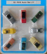 N scale Bachmann accessories 8 automobiles 52-7010 Set #1 NIP