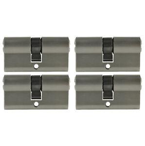 1-4x Profilzylinder 60mm 30/30 Tür Zylinder Schloss + Schlüssel gleichschließend
