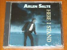 ARLEN SALTE - HERE I STAND - 1989 VERY RARE CANADA CHRISTIAN AOR STILL SEALED CD