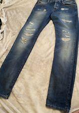 Scotch And Soda Mens Jeans Size 32w 34l Blue