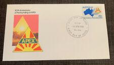 1981 Anniversary Founding Of Apex Australian Apo Fdc Eltham Vic