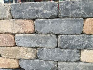 Trockenmauerstein für den Garten oder Blumenbeete 42x21x14 cm