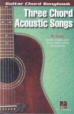 GUITAR CHORD SONGBOOK Three Chord Acoustic Songs