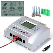 80 Amp Digital Charge Controller Solar Panel Power Regulator+10pcs Screw US LN