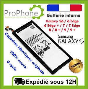 BATTERIE Samsung Galaxy S5/S6/S7/S8/S9/S10 Edge Plus  100% NEuve+ kit outils  ✅⭐