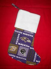 Baltimore Ravens Christmas Stocking