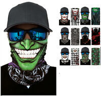 Motorcycle Face Mask Balaclavas Rider Cycling Ski Scarf Joker Headwear Ski Cap