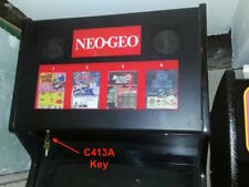 Neo Geo C413A Arcade Cabinet Marquee Key-Suits MVS Cabinets