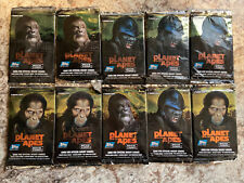 2001 Planet Of The Apes Movie Trading Cards 10 Unopened Packs