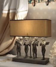 TISCHLAMPE LANDHAUSSTIL Leuchte Amor Lampe Tischleuchte Shabby Chic Figur Engel