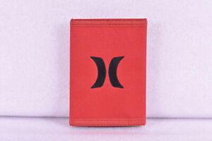 Hurley Honor Roll Tri - Fold Wallet w/ Centered Logo