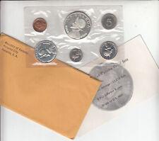 1968 Panama 6 Coin Proof Set in Original Envelope
