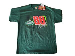 NWT Men's L Winner's Circle Dale Earnhardt Jr #88 Amp Energy T-Shirt Tee NASCAR
