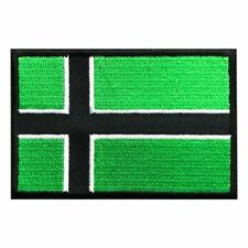 VINLAND FLAG VIKING TYPE O NEGATIVE MORALE HOOK PATCH  (3.0 X 2.0)  VFP-1