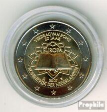Pays-Bas 2007 brillant universel (BU) 2007 2 euro romain contrats