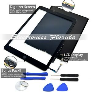 (LCD + Touch Screen Digitizer) Replacement For Apple iPad Air Black / White