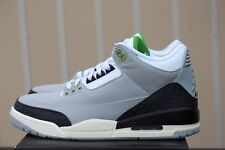 AIR JORDAN 3 RETRO III SZ 9.5 LIGHT SMOKE GREY CHLOROPHYLL TINKER AJ3 136064 006