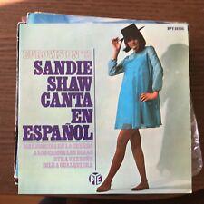 SANDIE SHAW - CANTA EN ESPAÑOL EUROVISION '67 - EP HISPAVOX 1967