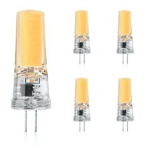 G4 LED 12V Warmweiß Kobos-led® 5 Pack,3W Ersetz 30W leuchtmittel,COB,Lampe,AC-DC