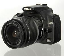 Canon EOS 350D Digitalkamera DSLR mit EF-S 18-55mm Objektiv LENS - 34222