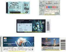 Riproduzione Chelsea Champions Vincitori Coppa Europa League Cup biglietti finale [RMT]