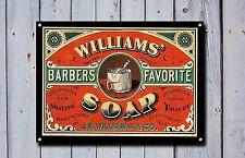 Barber Shop Letrero, Letrero Metal, LETREROS,estilo antiguo,Barberos 715