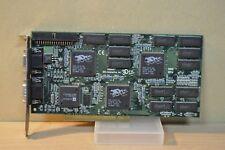 3DFx Voodoo2 8M Rare Video Card on PCI Slot, Working Condition, EliteMT Ram Chip