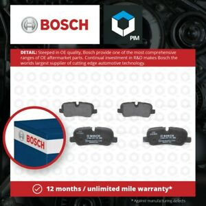 Brake Pads Set fits RANGE ROVER SPORT L320 3.6D Rear 06 to 13 368DT Bosch New